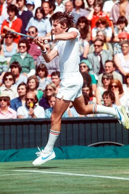 Jimmy Connors Wimbledon action 1978