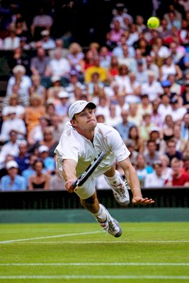 Andy Roddick Dive Volley