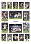 2016 ENGLAND 6 NATIONS GRAND SLAM TEAM SPECIAL Prints