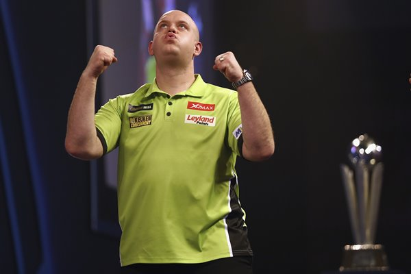 Michael van Gerwen World Darts Champion 2017