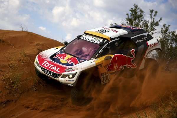 Stephane Peterhansel Peugeot 2017 Dakar Rally