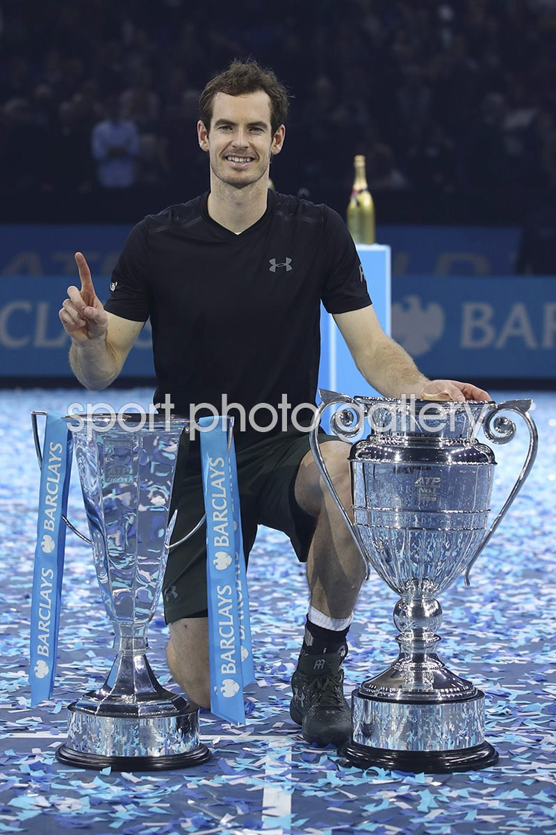 Andy Murray World Number 1 London 2016