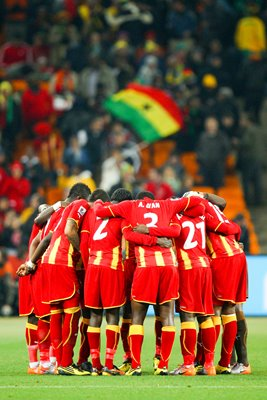Ghana team - 2010 World Cup