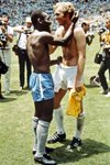 BOBBY MOORE AND PELE EXCHANGE SHIRTS Prints