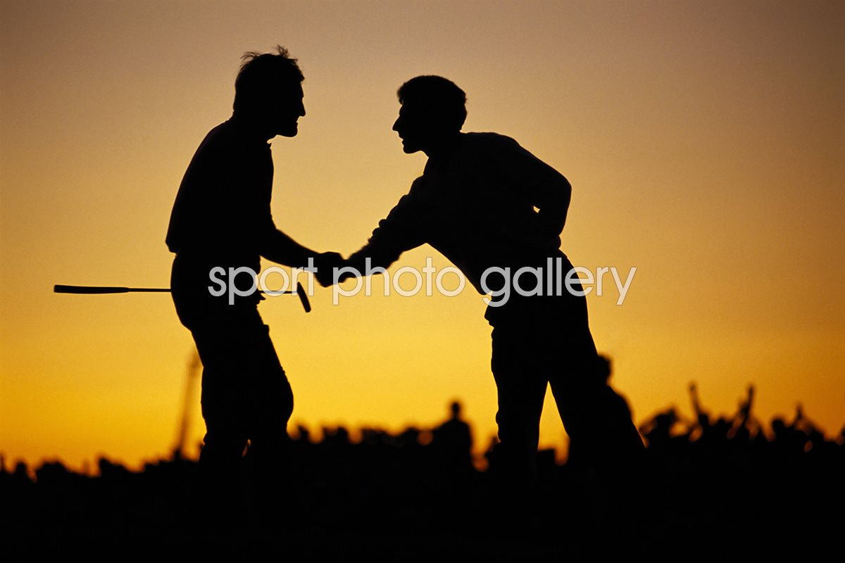 Seve and Olly Sunset Ryder Cup Kiawah Island 1991