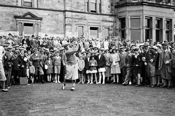 Bobby Jones Old Course St Andrews Open 1927