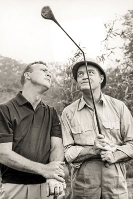 Arnold Palmer and Bob Hope London 1963