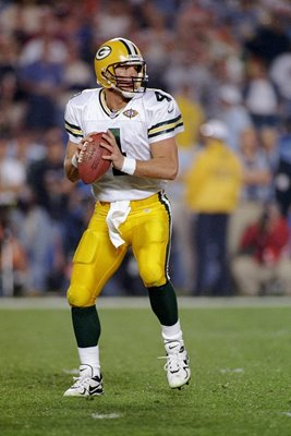 Brett Favre Green Bay Packers Quarterback Superbowl 1998