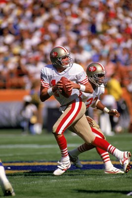 Joe Montana San Francisco 49ers v LA Rams 1988