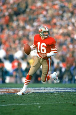 Joe Montana San Francisco 49ers v Miami Superbowl 1985