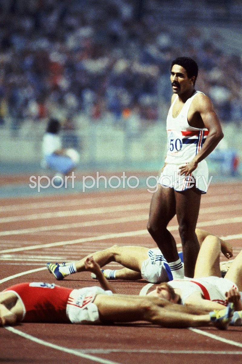 Daley Thompson Last Man Standing Athens 1982