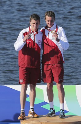 Alistair and Jonathan Brownlee Commonwealth Games 2014