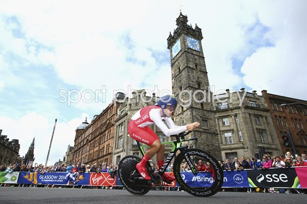 Alex Dowsett Road Time Trial Commonwealth Games 2014