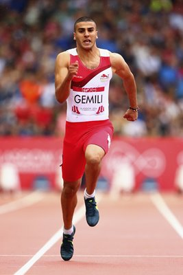 Adam Gemili Men's 100m Commonwealth Games 2014