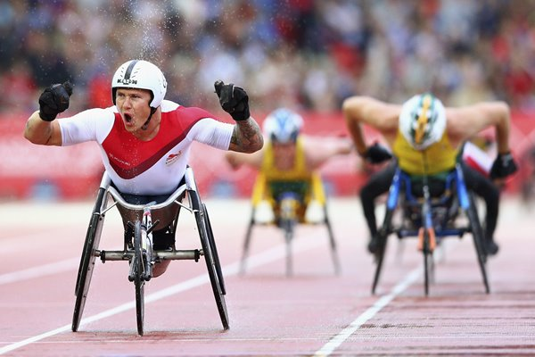 David Weir T54 1500m Commonwealth Games 2014