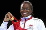Nicola Adams Boxing Gold Commonwealth Games 2014 Prints