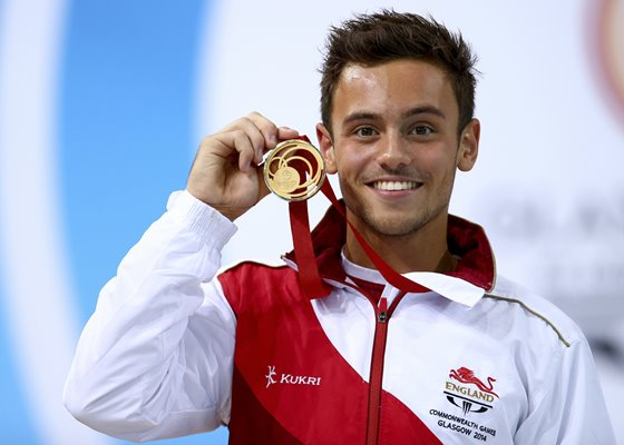 Tom Daley 10m Platform Gold Commonwealth Games 2014