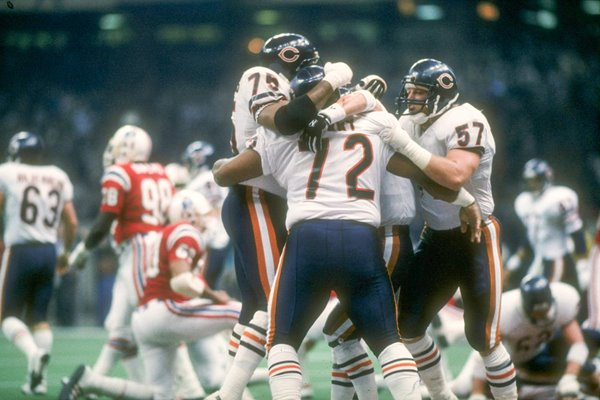William The Fridge Perry Chicago Bears Superbowl 1986