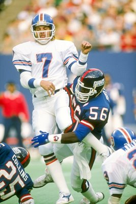 John Elway Denver Broncos v Giants 1986