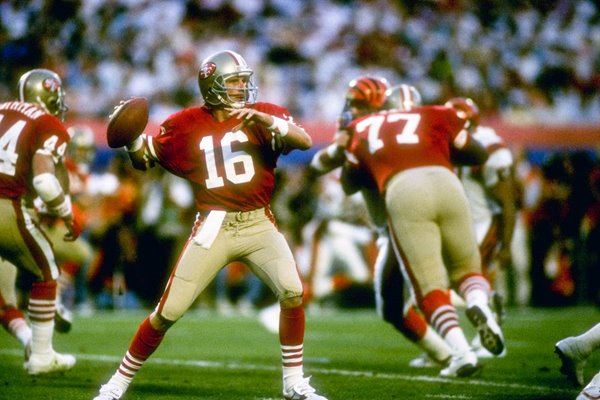 Joe Montana San Francisco 49ers Super Bowl 1989