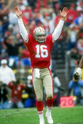 Joe Montana San Francisco 49ers Touchdwon 1991