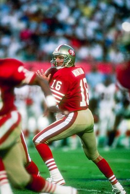 Joe Montana San Francisco 49ers Superbowl 1989