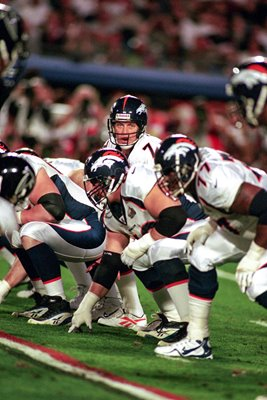 John Elway Denver Broncos v Atlanta Super Bowl 1999