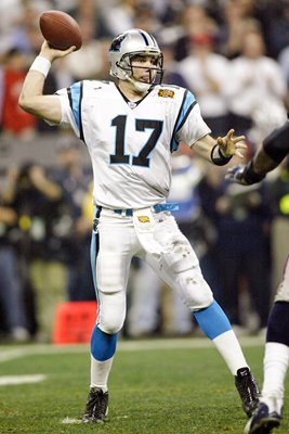 Jake Delhomme Carolina Panthers Super Bowl 2004