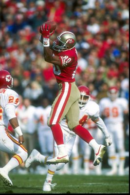 Jerry Rice San Francisco 49ers Candlestick Park 1991