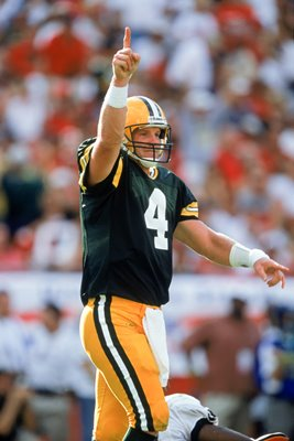 Brett Favre Green Bay Packers v Tampa Bay 2001