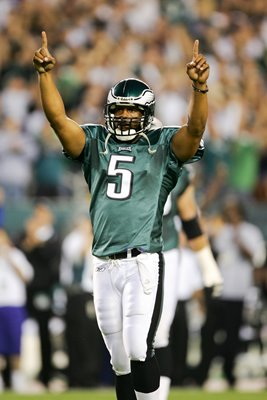 Donovan McNabb Philadelphia Eagles v Vikings 2004