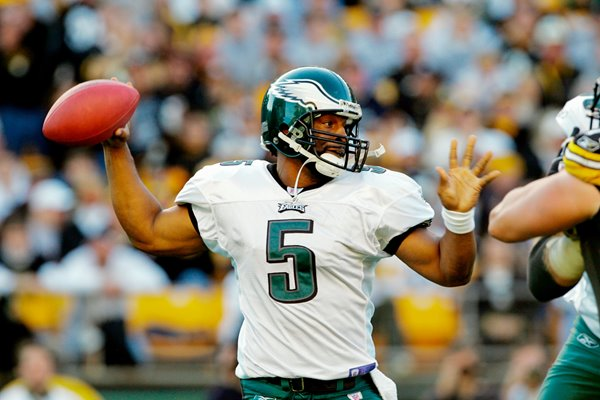 Donovan McNabb Philadelphia Eagles v Steelers 2004