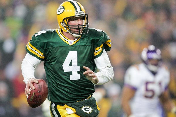 Brett Favre Green Bay Packers v Vikings 2005