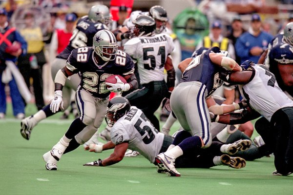 Emmitt Smith Dallas Cowboys v Eagles 1999