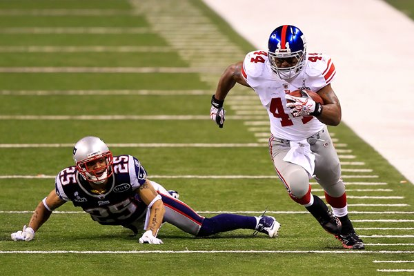 Ahmad Bradshaw New York Giants Super Bowl 2012