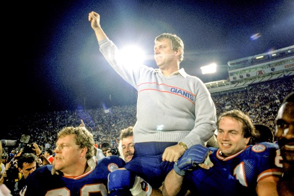 Bill Parcells New York Giants Super Bowl 1987