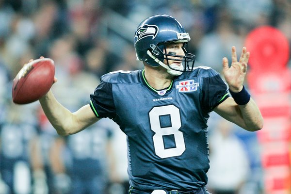Matt Hasselbeck Seattle Seahawks Super Bowl XL 2006