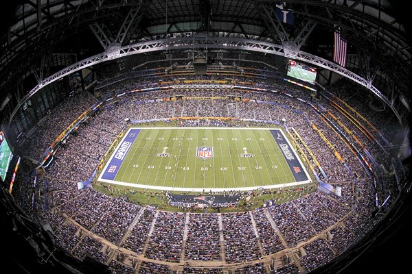 Lucas Oil Stadium Super Bowl XLVI
