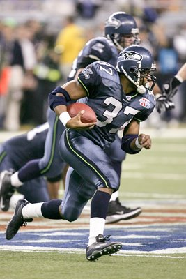 Shaun Alexander Seattle Seahawks Super Bowl 2006