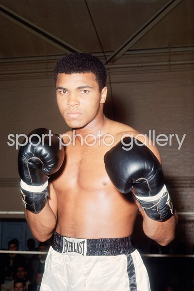 Muhammad Ali Portrait London 1966