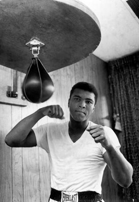 Cassius Clay (later Muhammad Ali) 1965