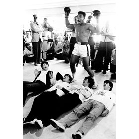 Cassius Clay and The Beatles Miami 1964