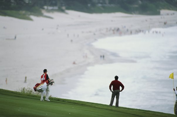 Seve Ballesteros Pebble Beach US Open 1992