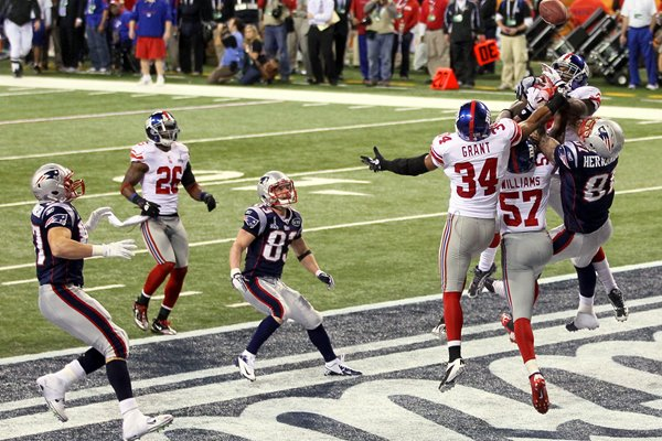 New York Giants defence closes out Super Bowl win