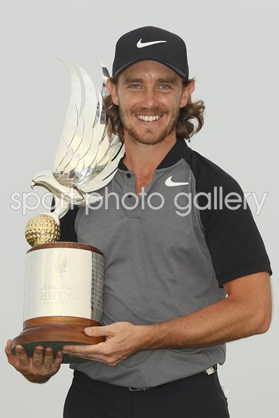 Tommy Fleetwood Abu Dhabi HSBC Champion 2017