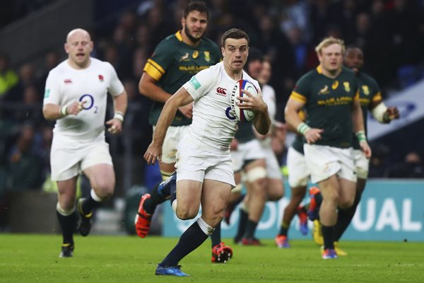 George Ford England v South Africa Twickenham 2016