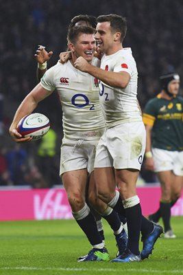 Owen Farrell & George Ford England v South Africa 2016