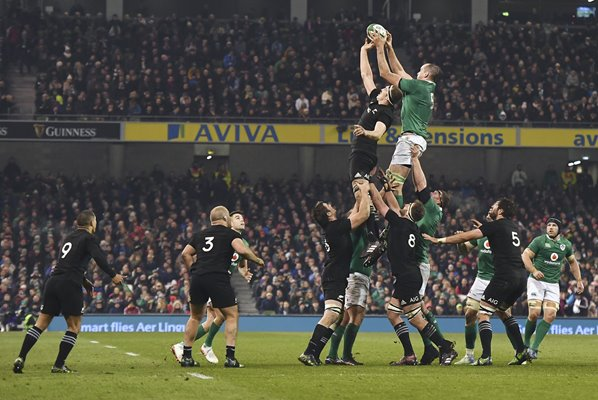Devin Toner Ireland v New Zealand Dublin 2016