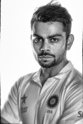 Virat Kohli Portrait India Tour to England 2014