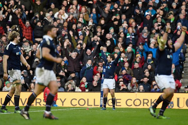 Greig Laidlaw Scotland beat Ireland 6 Nations 2017